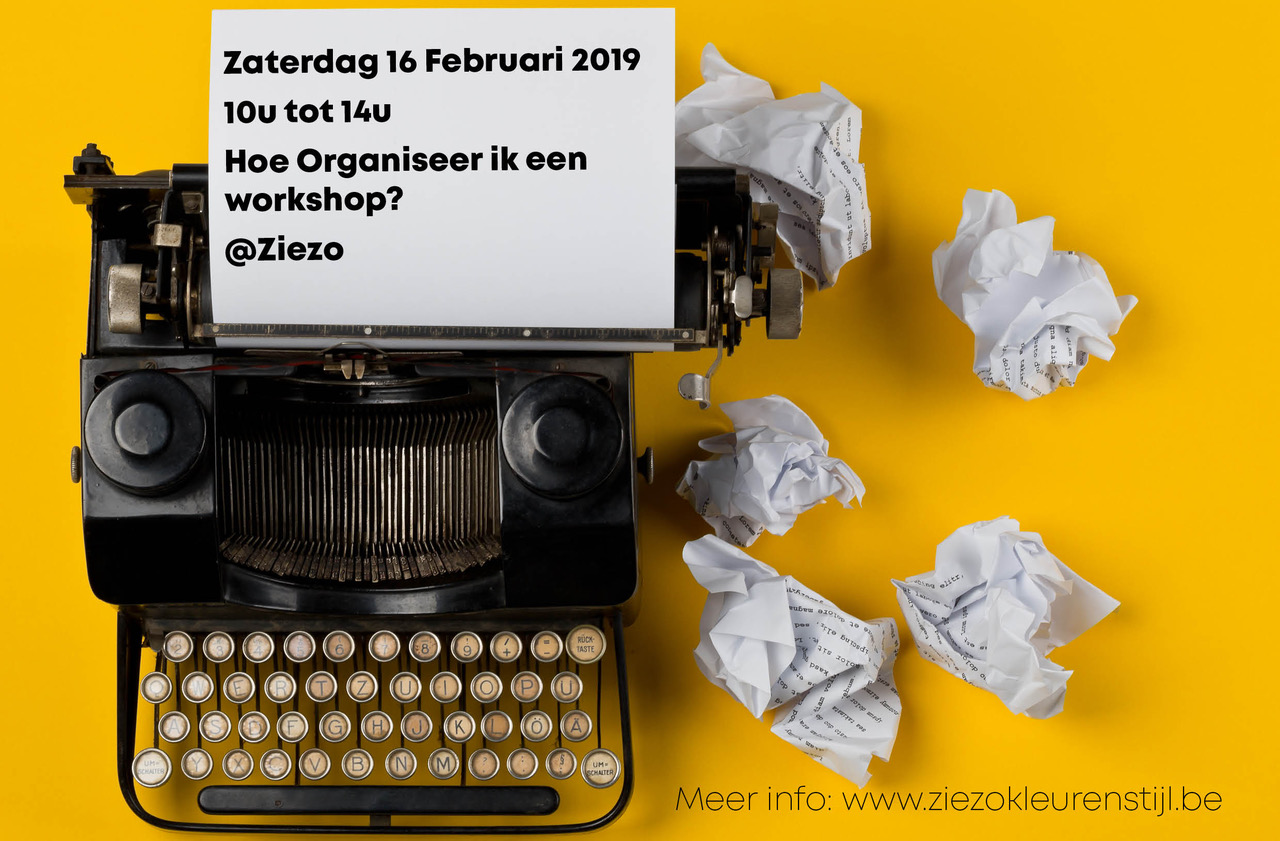 Workshops Organiseren